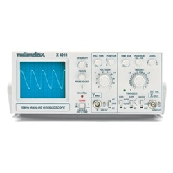 Analogue Oscilloscope, 1x10 MHz (230 V, 50/60 Hz)