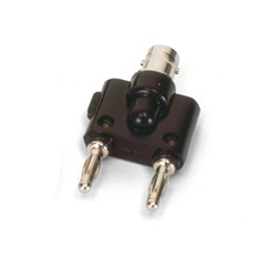 Adapter, BNC Jack/4-mm-Plugs