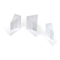Set of 3 Glass Prisms