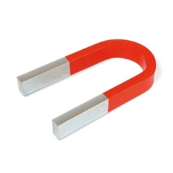 Horseshoe Magnet 140 mm, with Yoke
