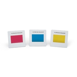 Set of 3 Color Filters, Secondary Colors