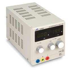 DC Power Supply 20 V, 5 A (230 V, 50/60 Hz)
