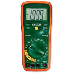 Digital Multimeter, Manual Ranging