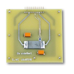 Undoped Germanium on Printed Circuit Board