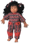 Lin - Down's Syndrome Doll (Trisomy 21), Asian female