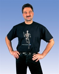 "Anatomical T-Shirt ""I'm going one step further"""