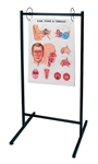 Portable Anatomical Chart Stand - Holds up to 25 Anatomical Charts