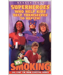Superheroes vs Smoking DVD