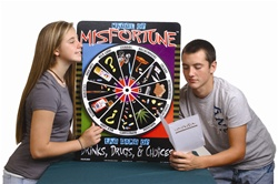 Wheel of Misfortune Game
