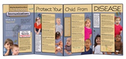 Childhood ImmunizationsFolding Display