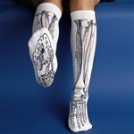 Anatomical Bone Socks - Skeleton Bone Socks - Black