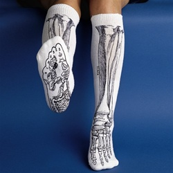 Anatomical Bone Socks - Skeleton Bone Socks