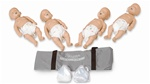 Economy Sani-Baby Manikin for CPR 4 Pack