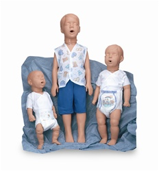 Pediatric CPR Manikin with Carry Bag