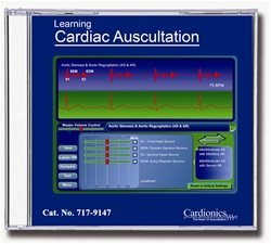 Learning Cardiac Auscultation CD-ROM