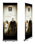 "33"" x 79"" Retractable Banner"