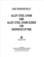 Alloy Steel Chain & Alloy Steel Chain Slings Overhead Lift (AIST TR-04) - PDF