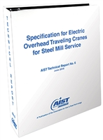 Specification for Electric Overhead Traveling Cranes for Steel Mill Service (AIST TR-06), PDF