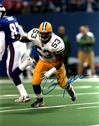 GEORGE KOONCE SIGNED PACKERS 8X10 PHOTO #5