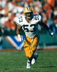 GEORGE KOONCE SIGNED PACKERS 8X10 PHOTO #6