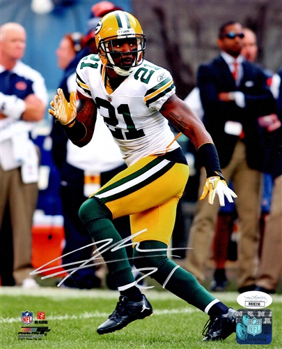 reputable site 87c63 ae464 CHARLES WOODSON SIGNED 16X20 PACKERS PHOTO #4 - BCA