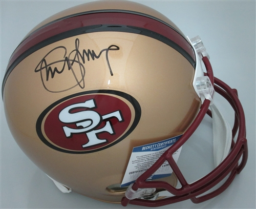 1e036305163 steve young signed full size san francisco 49ers replica helmet