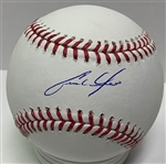CHRISTIAN YELICH BREWERS SIGNED MLB BASEBALL - STEINER