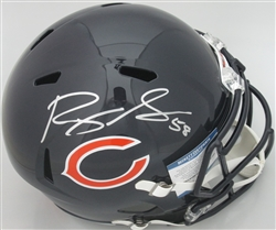 ROQUAN SMITH SIGNED FULL SIZE BEARS REPLICA SPEED HELMET - BCA