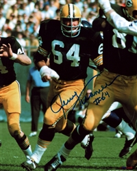 JERRY KRAMER SIGNED 8X10 PACKERS PHOTO #5