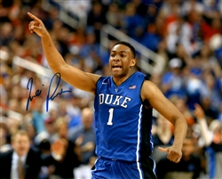 JABARI PARKER SIGNED 8X10 DUKE BLUE DEVILS PHOTO #2 - BULLS