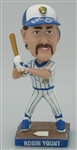 ROBIN YOUNT SIGNED 2007 BREWERS SGA MINI BOBBLEHEAD