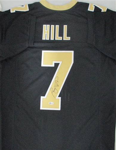 best service d6b54 8d246 TAYSOM HILL SIGNED SAINTS CUSTOM REPLICA JERSEY - BCA