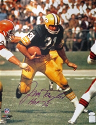 JIM TAYLOR SIGNED 16X20 PACKERS PHOTO #7 - JSA
