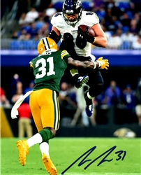 ADRIAN AMOS SIGNED 8X10 PACKERS PHOTO #3