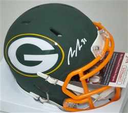 ADRIAN AMOS SIGNED PACKERS AMP MINI HELMET - JSA