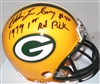 EDDIE LEE IVERY SIGNED PACKERS MINI HELMET W/ 1st Rd Pick
