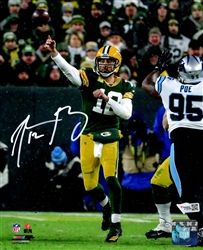 AARON RODGERS SIGNED PACKERS 8X10 PHOTO #5