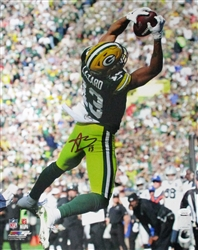 ALLEN LAZARD SIGNED 16X20 PACKERS PHOTO #1 - JSA