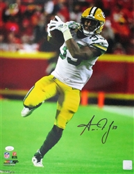 AARON JONES SIGNED 16X20 PHOTO #5 - JSA