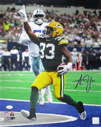 AARON JONES SIGNED 16X20 PHOTO #6 - JSA
