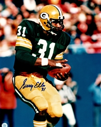 GERRY ELLIS SIGNED PACKERS 8X10 PHOTO #3