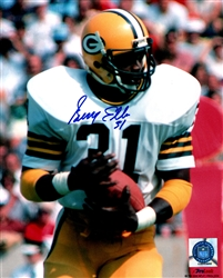 GERRY ELLIS SIGNED PACKERS 8X10 PHOTO #4