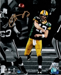 AARON RODGERS SIGNED 8X10 PACKERS PHOTO #6 - FAN