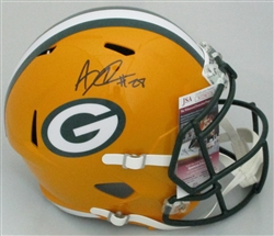 AJ DILLON SIGNED FULL SIZE PACKERS REPLICA SPEED HELMET - BCA