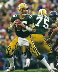 RANDY WRIGHT SIGNED 8X10 PACKERS PHOTO #1