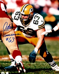 ADAM TIMMERMAN SIGNED 8X10 PACKERS PHOTO #1