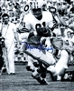MARV FLEMING SIGNED 8X10 PACKERS PHOTO #1