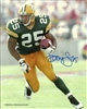 DORSEY LEVENS SIGNED 8x10 PACKERS PHOTO #1