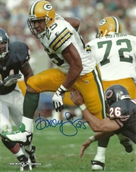 DORSEY LEVENS SIGNED 8x10 PACKERS PHOTO #6