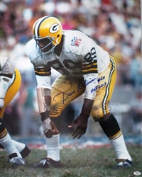 DAVE ROBINSON SIGNED 16X20 PACKERS PHOTO #7